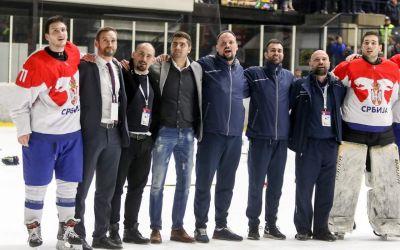 Velika je čast raditi sa hokejašima Srbije