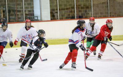 Hokejaški vikend za devojčice u Novom Sadu