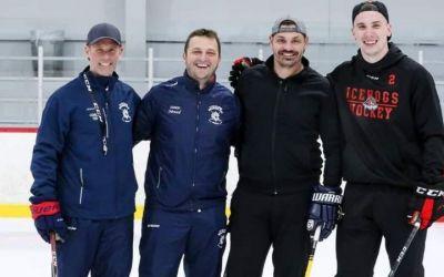 Nenad Raković u Čikagu živi svoj hokejaški san